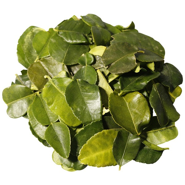 Thai food lime leaves