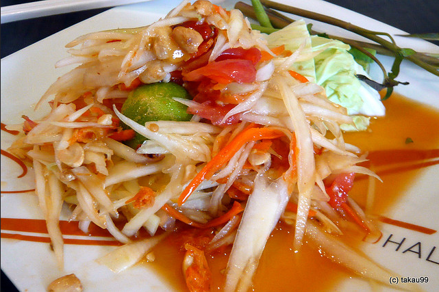 Som Tam (Thai Papaya Salad)