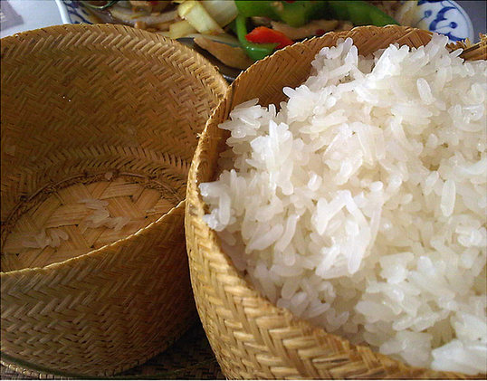 Isan Sticky Rice Basket