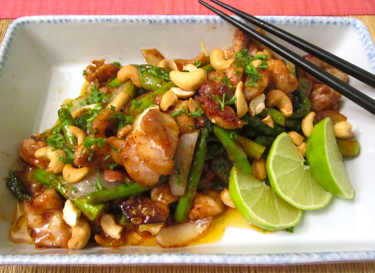 Stir Fried Chicken with Cashew Nuts