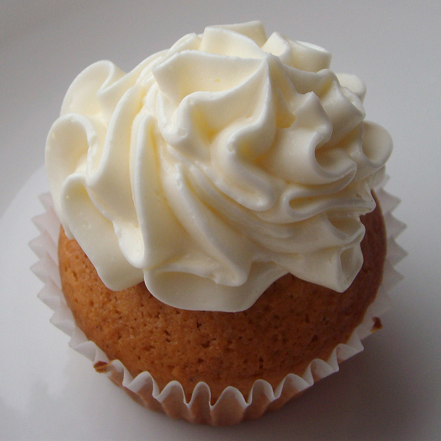 Thai Iced Tea Cupcake