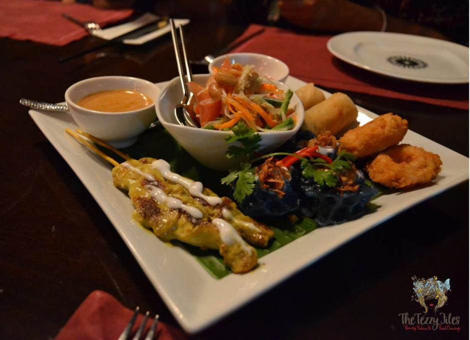 the royal budha appetiser platter review