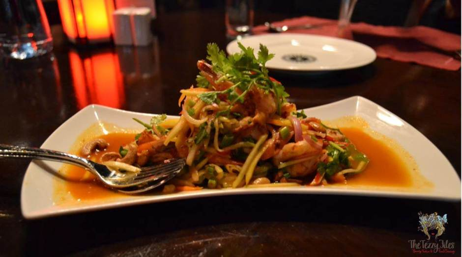 the royal budha mango salad review
