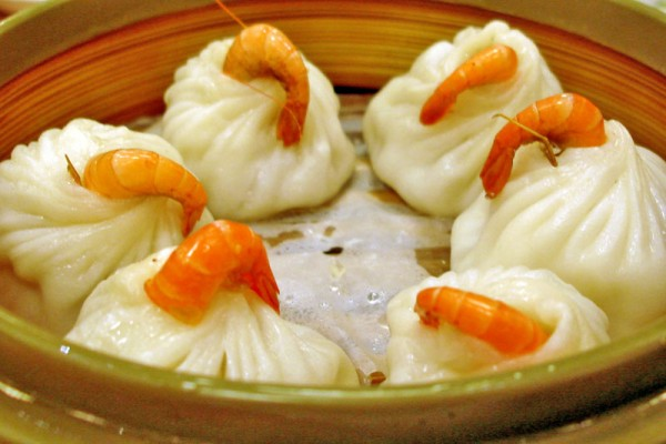 Shrimp Dumplings at The Royal Budha