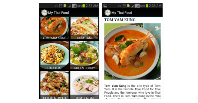 Thai food apps for those travelling or living in thailand my thai food apps forumfinder Gallery